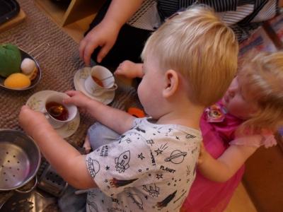 Thomas tea party